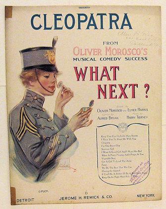 CLEOPATRA Oliver Morosco's Musical Comedy 1917