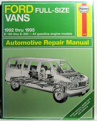 Ford Vans Automotive Repair Manual 1992-1995
