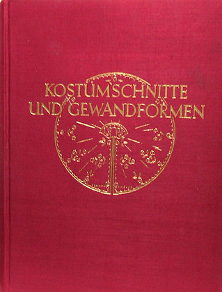 German International Costume Book 1945 (w/Jacket!) Scarce!