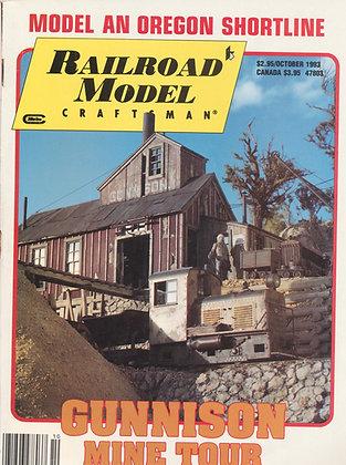 Railroad Model Craftsman, October 1993
