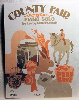 COUNTY FAIR (Piano Solo) 1993