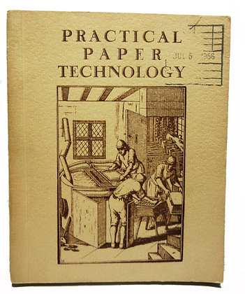 Practical Paper Technology 1955