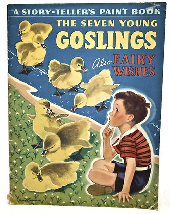 The Seven Young Goslings (Paint Book) 1941