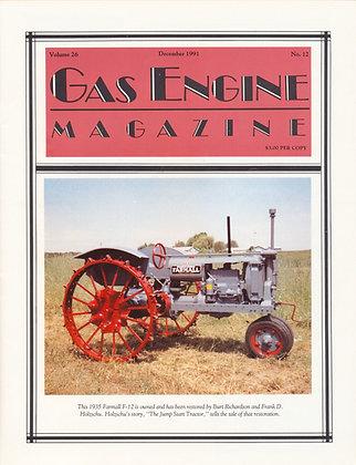 Gas Engine Mag.  December 1991