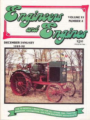 Engineers & Engines, Dec.-Jan. 1989-90
