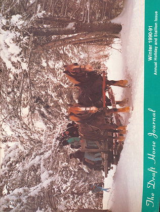 Draft Horse Journal Winter 1990-91