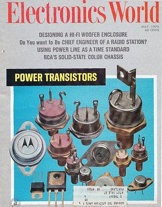 Electronics World (May 1970) Radio