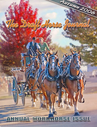 Draft Horse Journal Autumn 2006