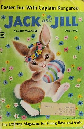JACK and JILL (April 1960, Vol. 22, #6) Easter Fun with Captain Kangaroo