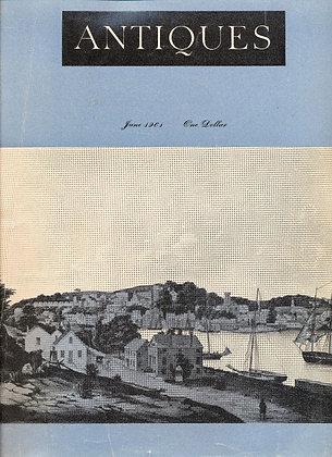 ANTIQUES (June 1961)