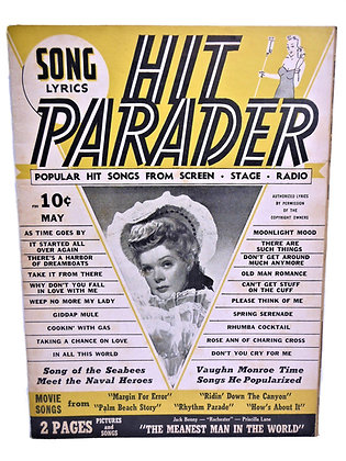 Hit Parader (SCREEN, STAGE, RADIO) May 1943