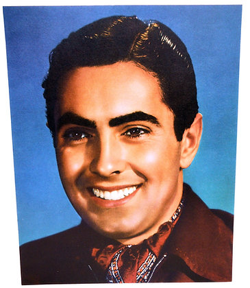 TYRONE POWER: 8 x 10 color (ca. 1940)