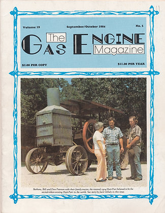 Gas Engine Mag.  Sept.-Oct. 1984