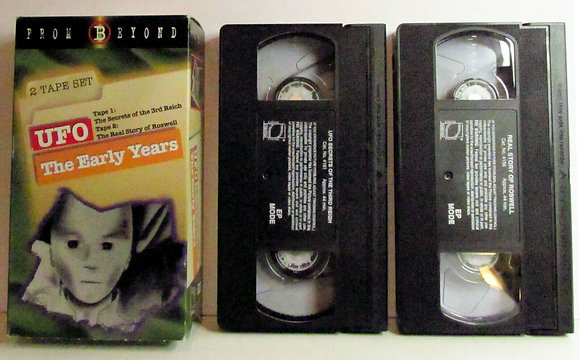 FROM BEYOND: UFO The Early Years 1996 (2 VHS Set)