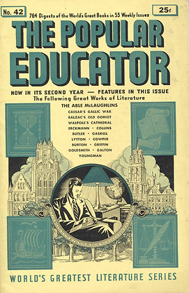 POPULAR EDUCATOR (#42, Second Year, 1940) THE ABLE MCLAUGHLINS