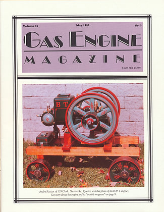 Gas Engine Mag.  May 1990