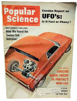 Popular Science Magazine (April 1969)