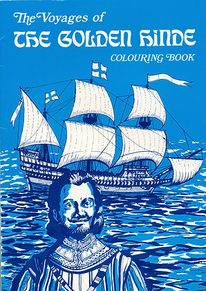 The Voyages of The Golden Hinde Colouring Book 1986
