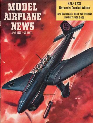 Model Airplane News (April 1955)