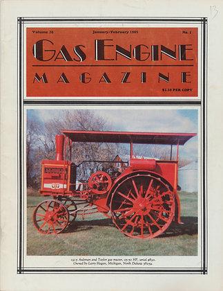 Gas Engine Mag.  Jan.-Feb. 1985