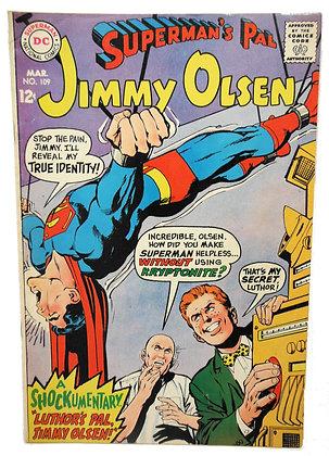 Jimmy Olsen, #109 - 1968