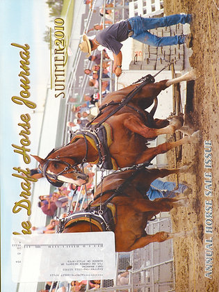 Draft Horse Journal Summer 2010