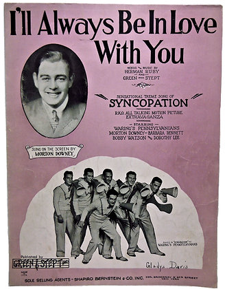 I'll Always be in Love with You 1929