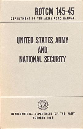 U. S. Army Nat. Security ROTCM 145-45