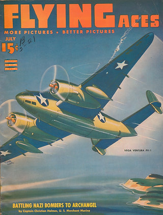 Flying Aces July 1943