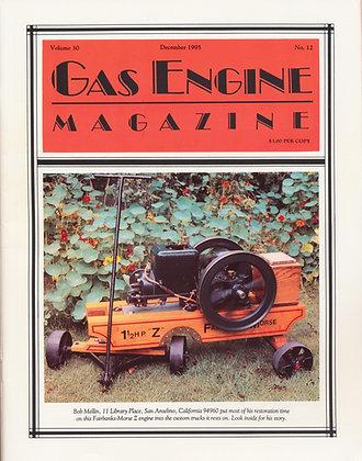 Gas Engine Mag.  December 1995
