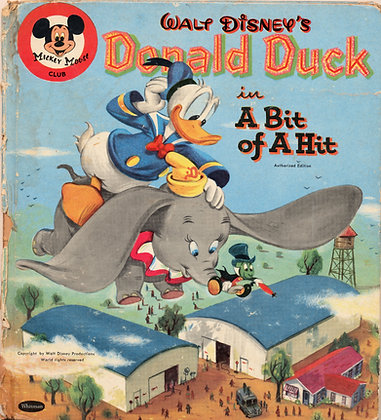Walt Disney's Donald Duck A Bit of A Hit 1956