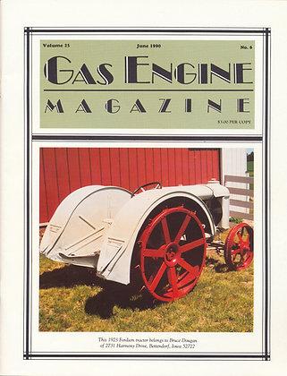 Gas Engine Mag.  June 1990