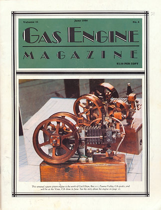Gas Engine Mag.  June 1986