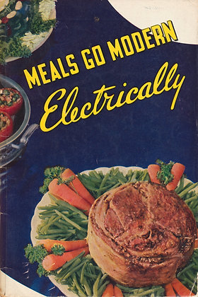 Meals Go Modern Electrically 1937