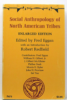 Social Anthropology of North American Tribes Eggan