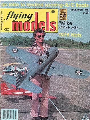 Flying Models (December 1978)