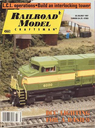 Railroad Model Craftsman, July 1997