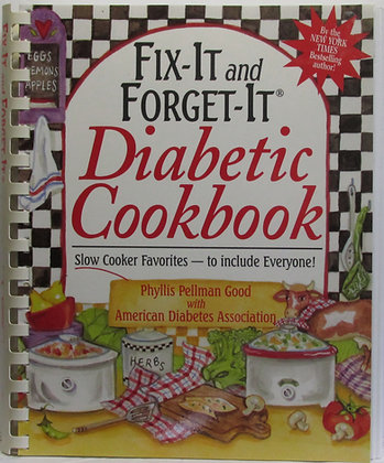 Fix-It and Forget-It DIABETIC Cookbook Phyllis Good