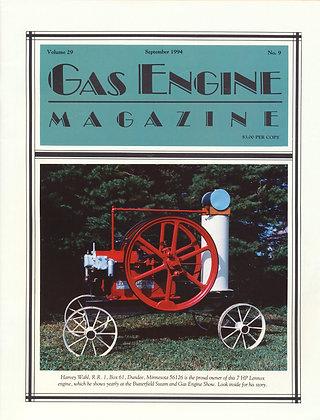 Gas Engine Mag.  September 1994