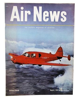 Air News (August 1945) WW2