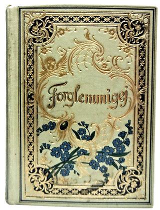 Forglemmigej. Bibelsprog og Salmevers (Danish) 1913 (calendar book)