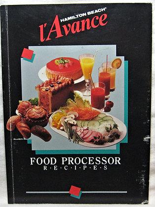 L'Avance Hamilton Beach Food Processor Recipes