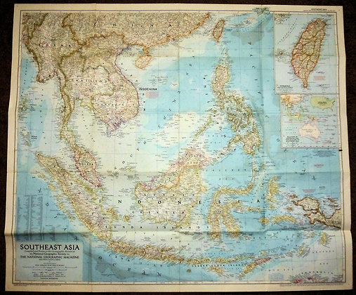 Nat. Geographic Southeast Asia 1955