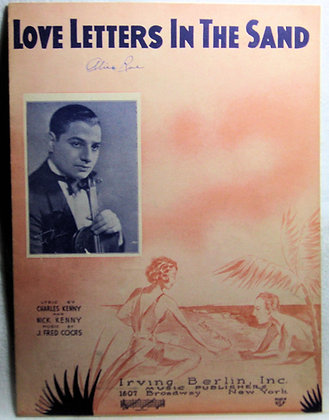 LOVE LETTERS IN THE SAND 1931