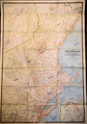 Nat. Geographic New England 1955