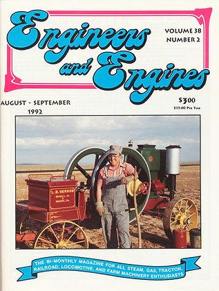 Engineers & Engines, Aug.-Sept. 1992