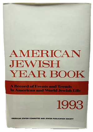 American Jewish Year Book 1993