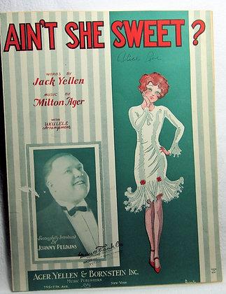 AIN'T SHE SWEET? 1927