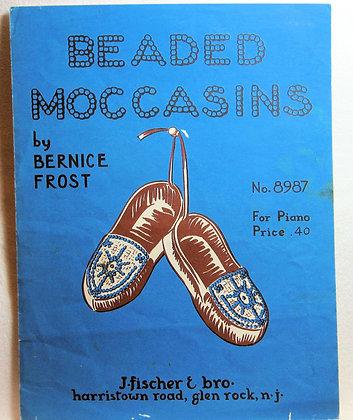 BEADED MOCCASINS BERNICE FROST 1956