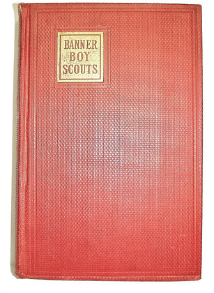Banner Boy Scouts on a Tour (Mystery) by Warren 1912